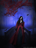 Crimson Beauty by MysticSerenity