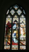 Denver Cathedral Windows 60 by Falln-Stock
