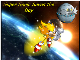 Super Sonic Saves the Day by EricTheWhitelion