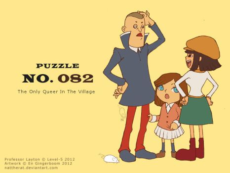 Puzzle 082 - The Only Queer In The Village by nattherat
