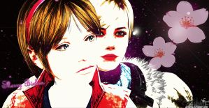 Sherry Before and After - RE6 Wallpaper by Zellphie
