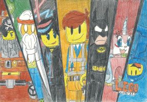 The Lego Movie Assemble!! by FelixToonimeFanX360