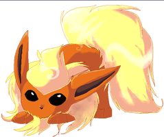 Flareon by Aorio