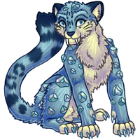 Crystal Leopis -Anatheria- by CometTheMicroraptor