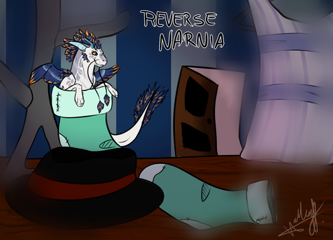[PROMPT] PSD Reverse Narnia! welp by RenaiRoa