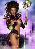 The Sorceress by RavenMoonDesigns