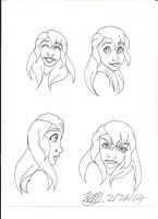 face expression 1 by Bellawho1