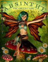 Absinthe the Green Fairy by IgnisSerpentus