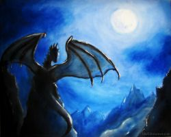 The Last Dragon by Lihell