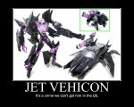Transformers: Prime Jet Vehicon Toy by Onikage108