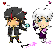 Chibi Shadouge by kitana911