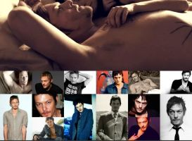 Norman reedus collage 2 by Evymonster9406