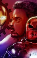 The Iron Man by liaartemisa