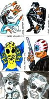 sketch cards by javierhernandez