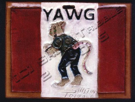 My first ConBadge for Yawg by ShujinTribble