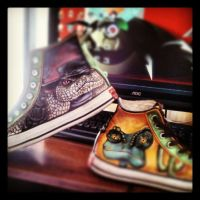 Rango vs Jake shoes by YERBALIFE