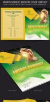 Awards Banquet Magazine Cover Template by Godserv