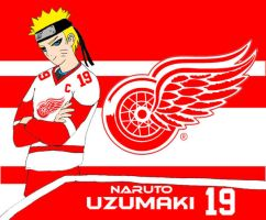 Naruto - Detroit Red Wings by EX388