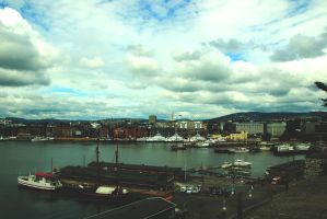 A View of Oslo by TheFreeWay