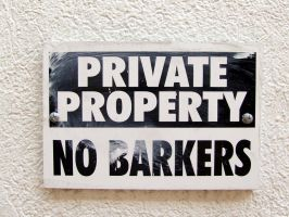 No barkers... by dtrford