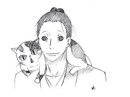 Masa and the Cat by WillAustinsArchive