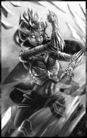 Shiva by Puzzletoad