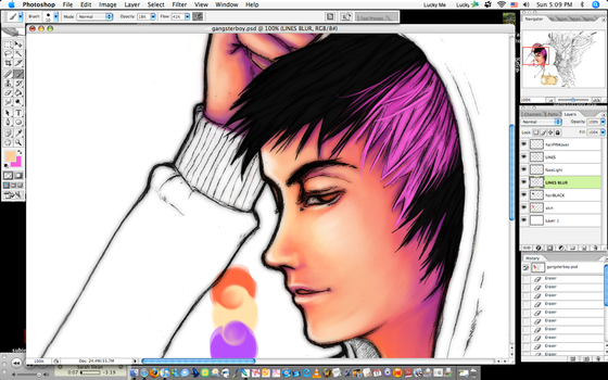 Boy - WIP by a-ray