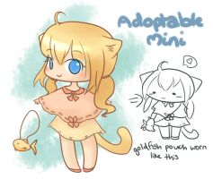 Kitten Adoptable Mini [CLOSED] by Melmee