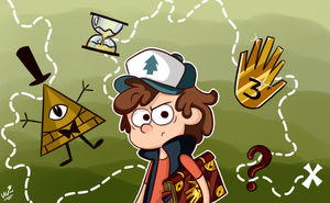 Dipper Pines. by CherryVioletS