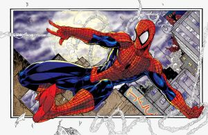 Spiderman Booth pencils by antgarcia