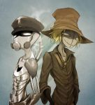 Robot And Scarecrow doodle. by Meammy