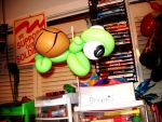 Turtle Balloon by wtf-diane