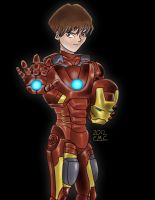 The Anime Avengers-Seto Kaiba as Iron Man by mosobot64
