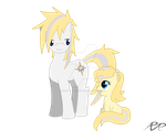 MLP OCs: Argent and Angel by Reg-D-Fanfiction