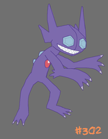 Sableye by Xgirl1251