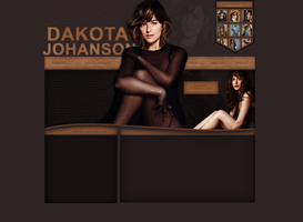 PREMADE DESIGN // dakotajohnson by victoriaharin