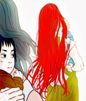 Mom's Red Hair 4 by Iro-the-Random-one