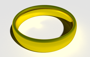 another caustics on ring by Wiictor