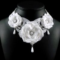 Victorian Wedding Necklace by Lincey