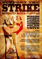 Occupy The Strike by twistedfunk