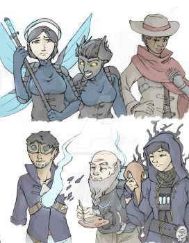 Dishonored Skins 1 by wendywhite13
