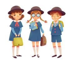 School Kids by boOnsai