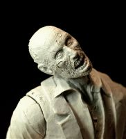 Resident Evil Zombie, close up by LocascioDesigns
