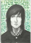 Oli Sykes by The-Krazy-Kitten