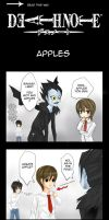 Death Note: Apples by Shingaka
