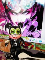 Catwoman Vinylmation by PoisonApple88