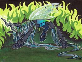 Chrysalis in Marker v.2 by lizspit
