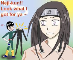 Spandex for Neji by hellpoemer