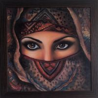 Arabic girl by shonefluoart