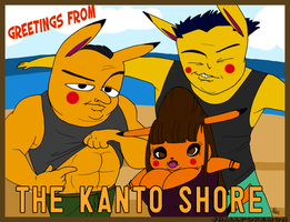 Kanto Shore by JHALLpokemon
